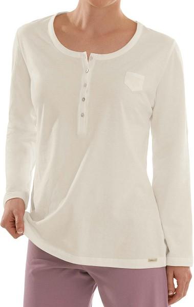 Schlaf-Shirt aus Fairtrade Bio-Baumwolle - creme