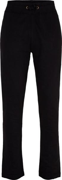 Unisex Relax-Pants aus Fairtrade Bio-Baumwolle - schwarz