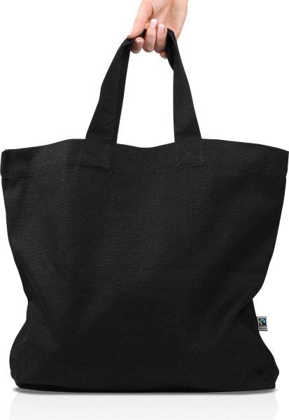 Organic Eco Luxe Bag Fairtrade - schwarz - Bild 1