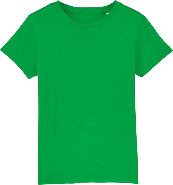 Kinder T-Shirt aus Bio-Baumwolle - fresh green