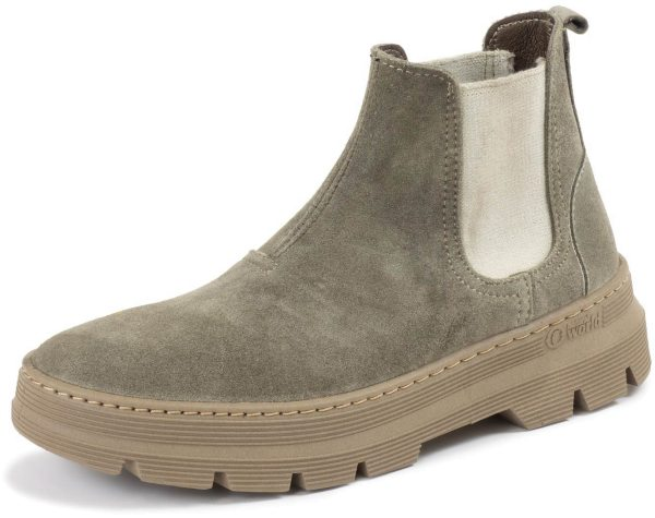 Chelsea Boots aus Wildleder - storm grey