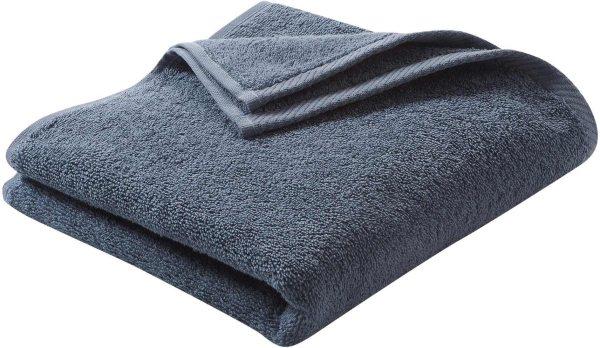 Handtuch aus Bio-Baumwolle 100x50 cm infinity blue