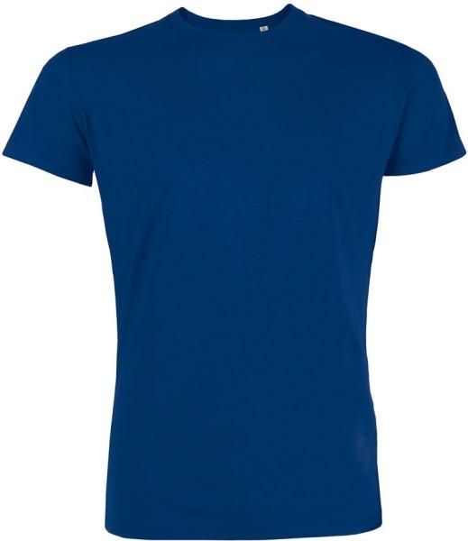 Leads - Kurzarmshirt aus Bio-Baumwolle - deep royal blue