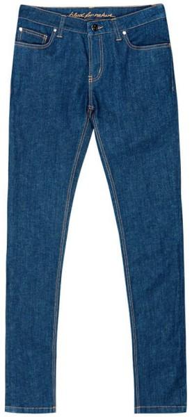 Damen Slim Fit Jeans aus Biobaumwolle - dark denim