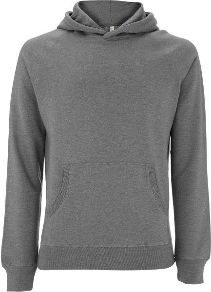 Recycled Unisex Hoodie aus Baumwolle & Polyester - melange heather