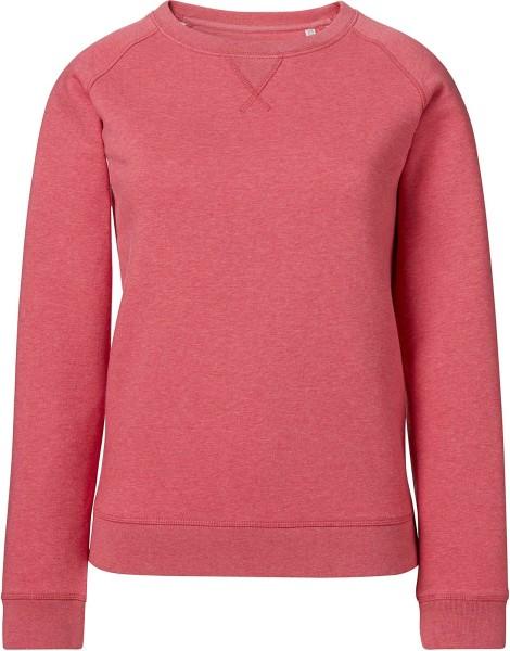 Frauen Sweatshirt Bio-Baumwolle - Stella Trips cranberry