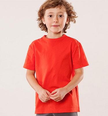 Kinder T-Shirt aus Bio-Baumwolle - rot - Bild 1