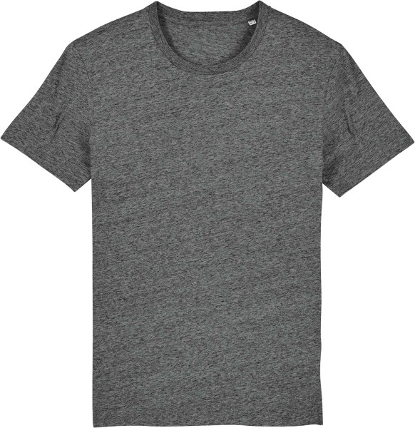 T-Shirt aus Bio-Baumwolle - slub heather steel grey