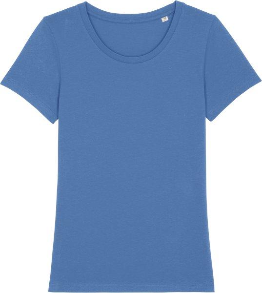 T-Shirt aus Bio-Baumwolle - bright blue