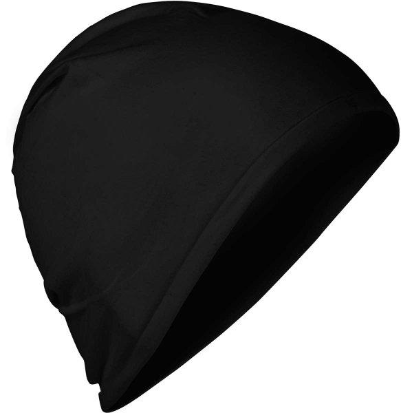 Fairtrade Jersey-Mütze aus Bio-Baumwolle - schwarz - Bild 1
