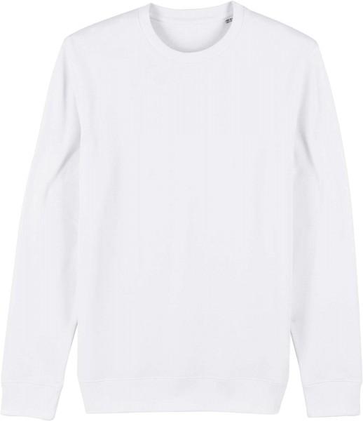 Unisex Sweatshirt aus Bio-Baumwolle - white