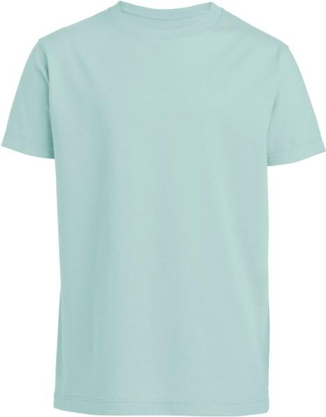 Kinder T-Shirt Bio-Baumwolle - caribbean blue
