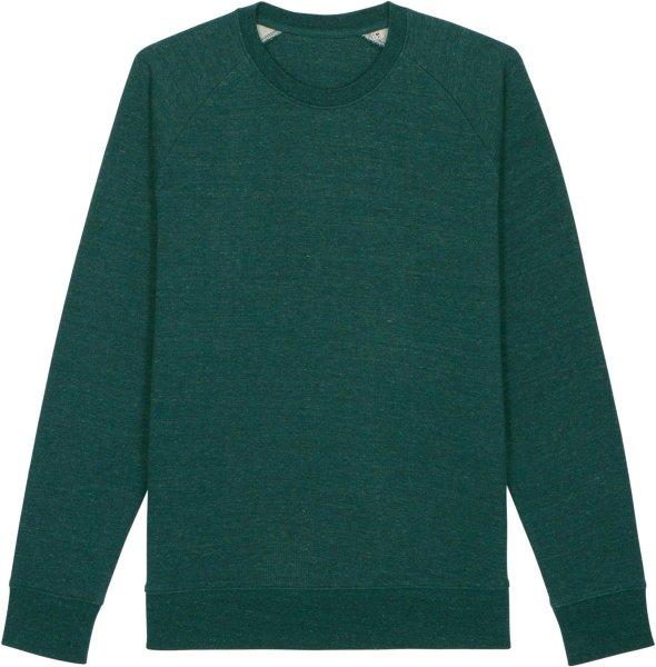 Sweatshirt aus Bio-Baumwolle - heather snow glazed green
