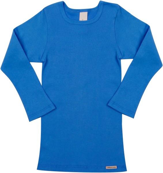 Kinder Langarmshirt aus Fairtrade Biobaumwolle - see - Bild 1