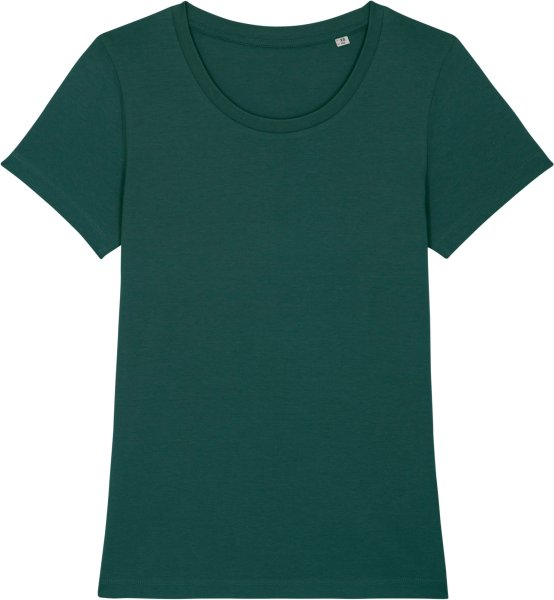 T-Shirt aus Bio-Baumwolle - glazed green