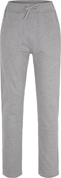Unisex Relax-Pants aus Fairtrade Bio-Baumwolle - grau meliert
