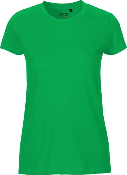 Fitted T-Shirt aus Fairtrade Bio-Baumwolle - green