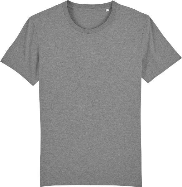 T-Shirt aus Bio-Baumwolle - mid heather grey