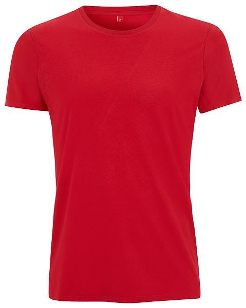 Unisex Slim-Cut T-Shirt tango red - Bild 1