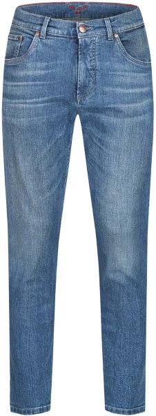 Finn - 5 Pocket Jeans aus Bio-Baumwolle - dirty blue