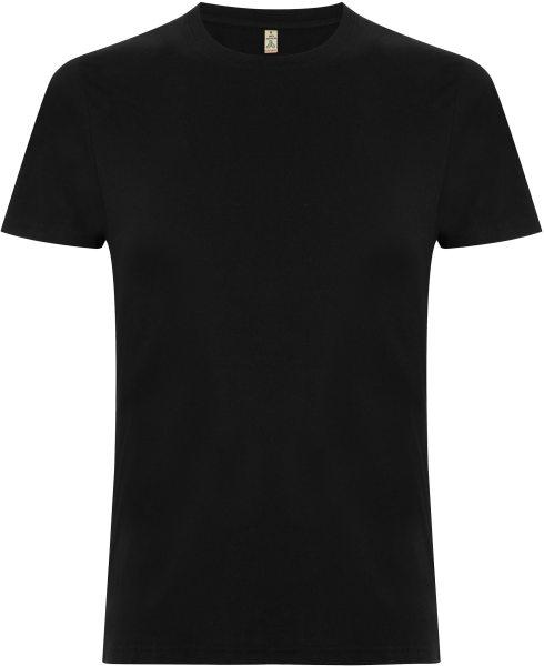 Recycled T-Shirt aus Baumwolle und Polyester - black