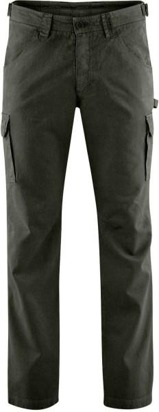 Field Pants - Cargohose aus Hanf und Bio-Baumwolle - asphalt
