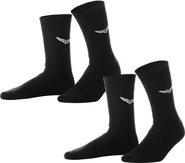 Socken - Doppelpack - schwarz