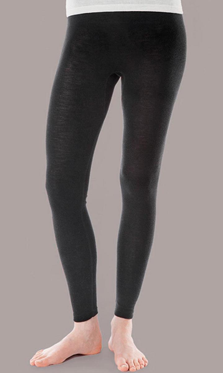 563fa33055dd Leggings - Wolle/Seide schwarz