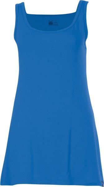 Träger-Longshirt - Viskose - blau