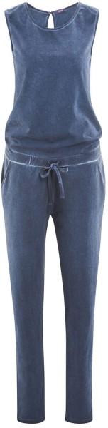 Jumpsuit aus Bio-Baumwolle – indigo blue