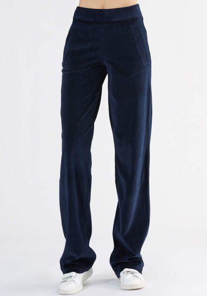 Nicki-Hose aus Bio-Baumwolle - nachtblau