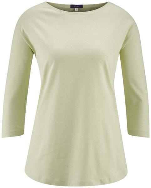 Schlaf-Shirt aus Biobaumwolle - milky green