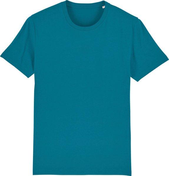 T-Shirt aus Bio-Baumwolle - petrol