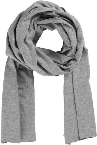 Fairtrade Schal aus Bio-Baumwolle - grau-meliert