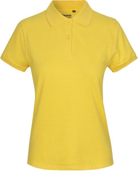 Classic Polo-Shirt aus Fairtrade Bio-Baumwolle - yellow
