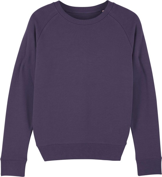 Sweatshirt aus Bio-Baumwolle - plum