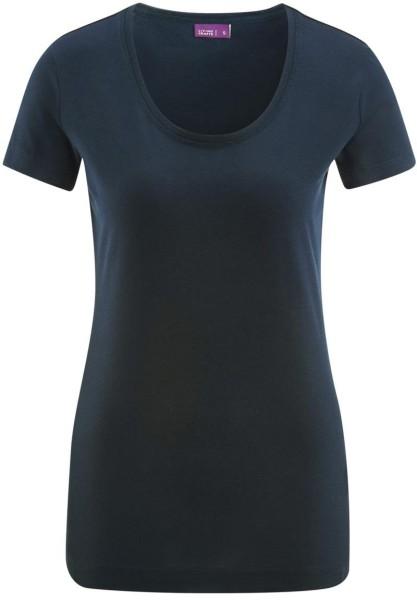 T-Shirt aus Biobaumwolle - dark navy - Bild 1
