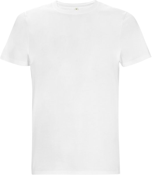 Dickes T-Shirt Herren weiss bio-fair EP18-WH