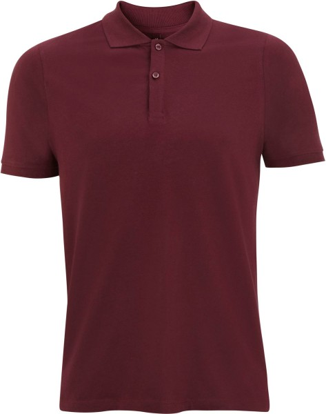 Jersey Polo T-Shirt claret red