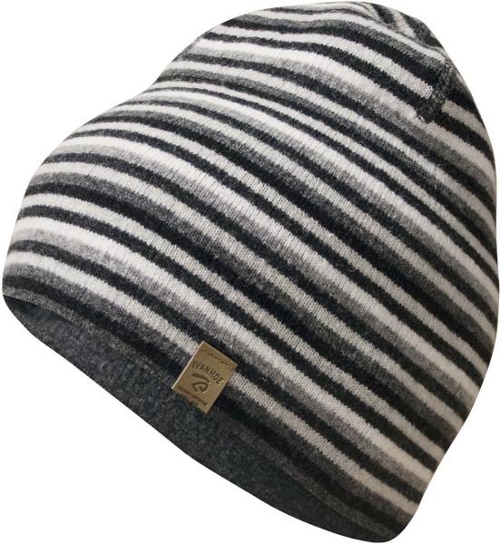 Wendemütze aus Wolle - grey