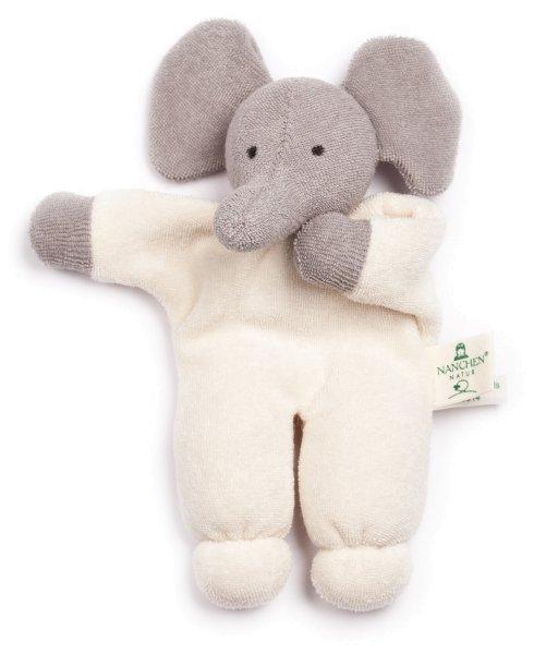 Nuckitier Rüssel Puppe aus Bio-Baumwolle - Bild 1