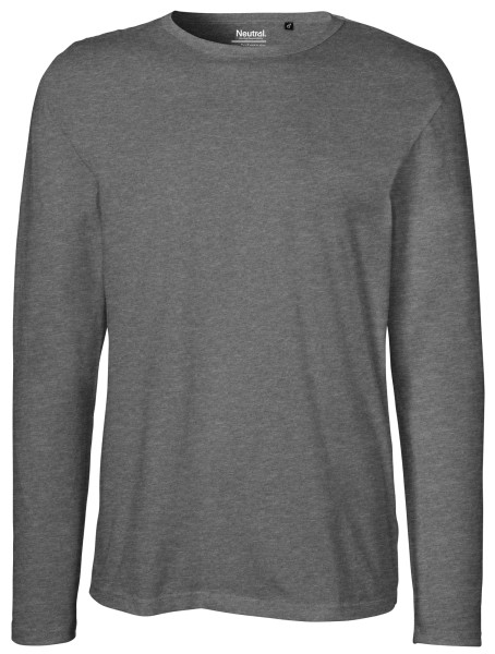 Neutral - Herren Longsleeve - dark heather