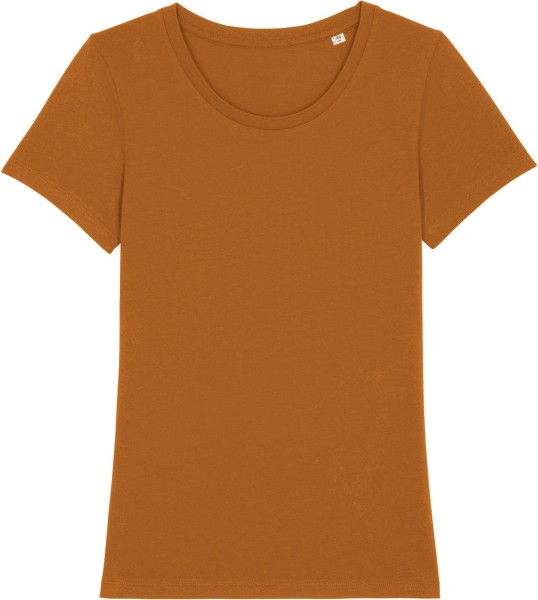 T-Shirt aus Bio-Baumwolle - roasted orange