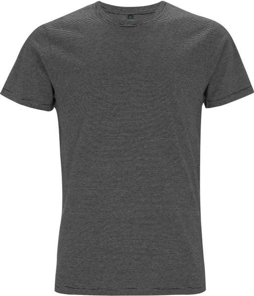 online bester Großhändler kosten charm Organic Striped T-Shirt - weiss/schwarz