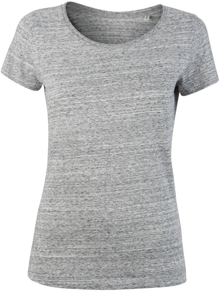Loves - Jerseyshirt aus Bio-Baumwolle - slub heather grey - Bild 1