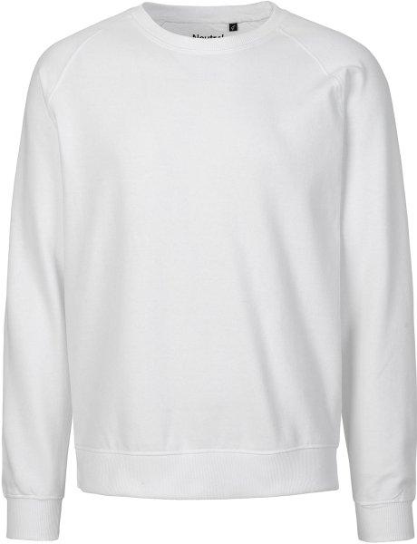 Unisex Sweatshirt aus Fairtrade Bio-Baumwolle - weiss
