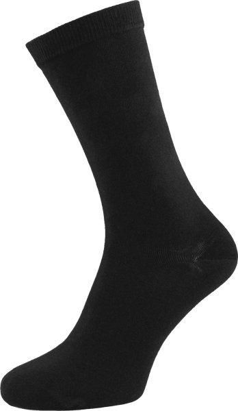 Schwarze Bio-Socken von Albero