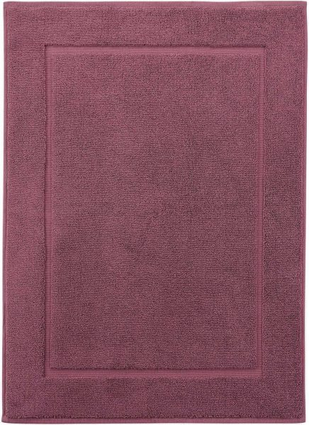 Badematte aus Bio-Baumwolle 50x70 cm - light plum