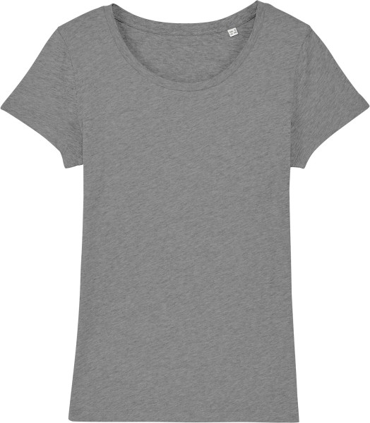 Jersey-Shirt aus Bio-Baumwolle - mid heather grey