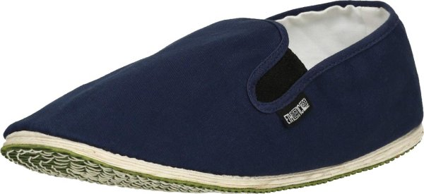 Faire Slipper von Ethletic in ocean blue